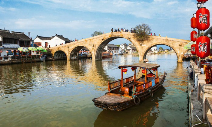 Visit Zhu Jia Jiao Water Town Day Trip from Shanghai
