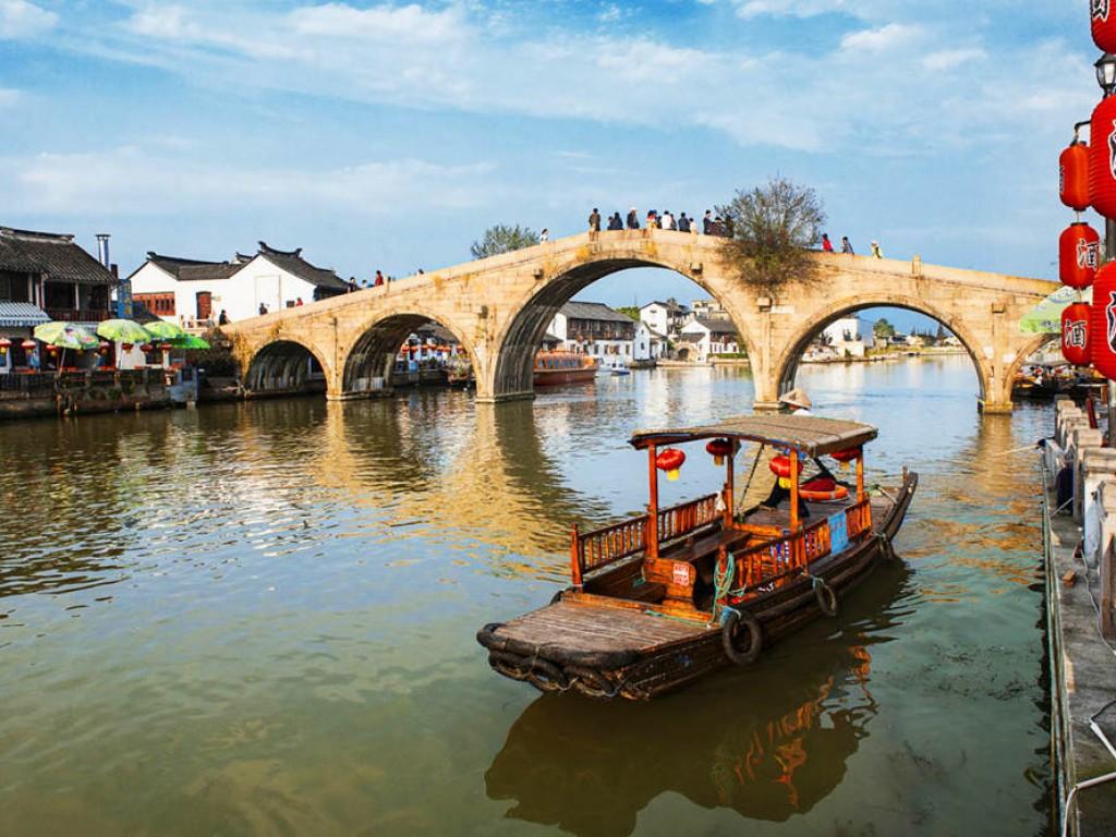 Visit Zhu Jia Jiao Water Town Day Trip from Shanghai 0