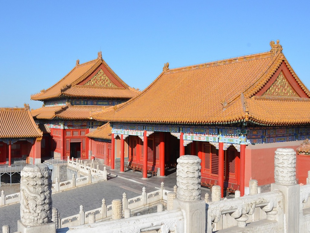 Traveling and Shopping in Beijing City Day Trip 1