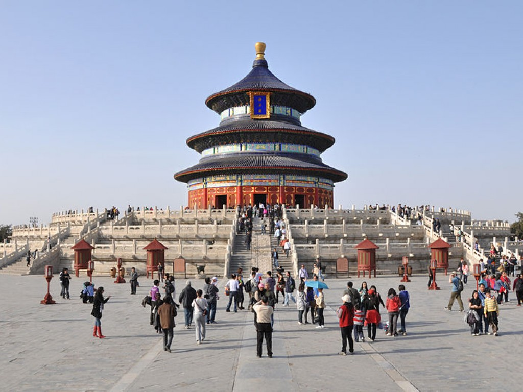 Traveling and Shopping in Beijing City Day Trip 2